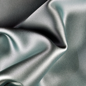 004 - Silver Gray Silk Charmeuse