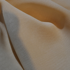 009 - 4-ply tan silk crepe