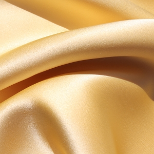 013 - Silk Charmeuse in a buttery yellow