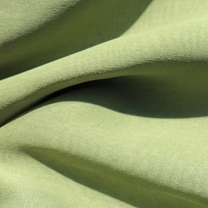 047 Silk Chiffon in a Quiet Green or Pistachio Green