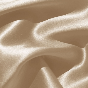 008 - Stretch Silk Charmeuse in Sand