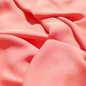 028 Seashell Pink Silk Georgette