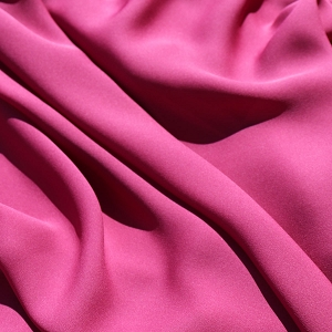 038 Hot Pink Silk Georgette
