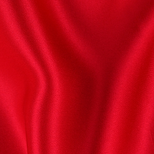 077 Red Silk Charmeuse