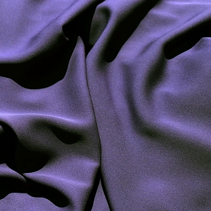 113 Mulberry Purple Silk Georgette