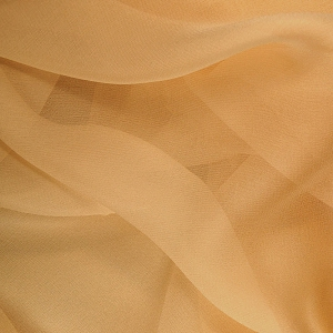 122 Shear Silk Chiffon in Golden Camel