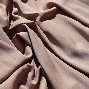 128 Cocoa Colored Silk Georgette