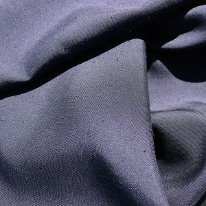 131 Dark Navy Silk Duoppioni