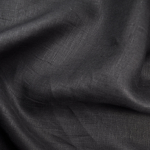 Black Handkerchief Linen