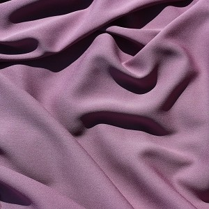 100 Silk Georgette Color of Grape Soda