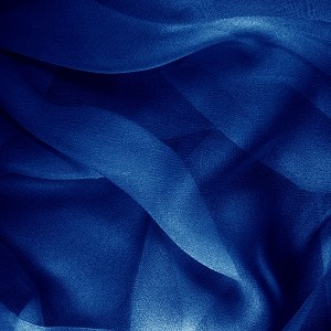 109 Shear Silk Chiffon in Royal Blue