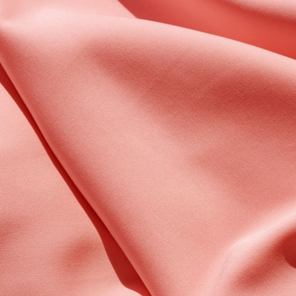028 Stretch Georgette in Seashell Pink