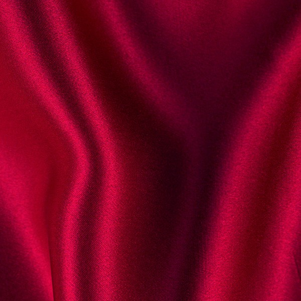089 Persian Red Silk Charmeuse