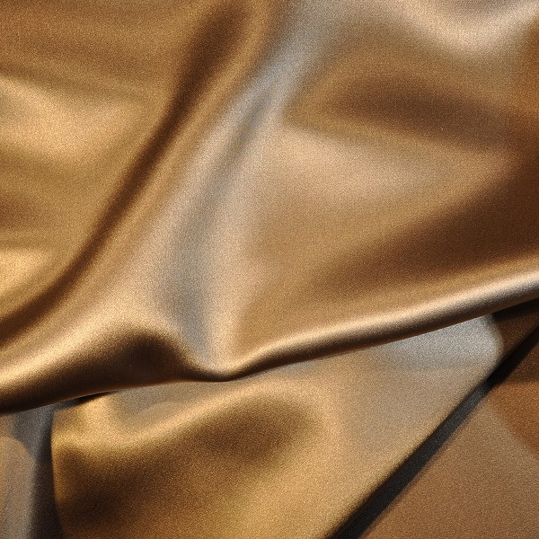 122 Silk Charmeuse Golden Camel