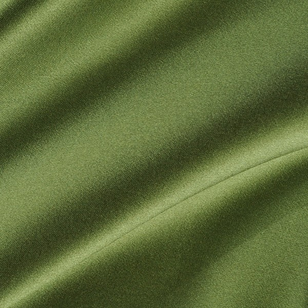 132 Spring Green Heavy Silk Charmeuse