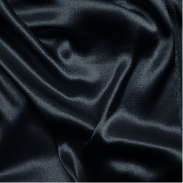 137 Silk Charmeuse in Midnight or Total Eclipse