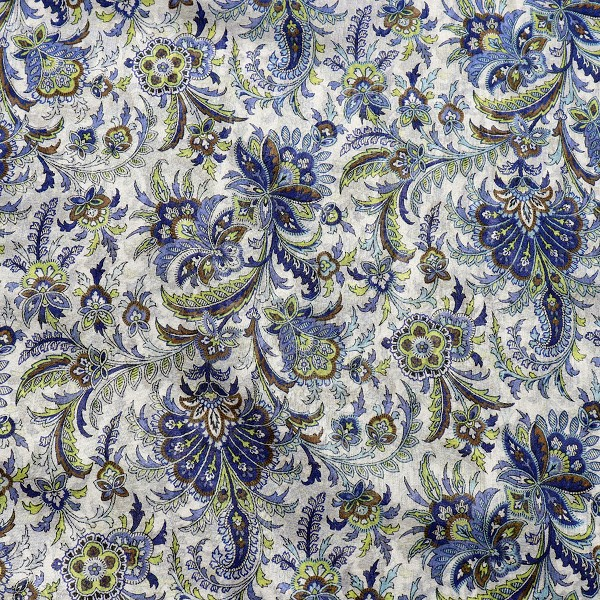 Paisley Cotton Voile
