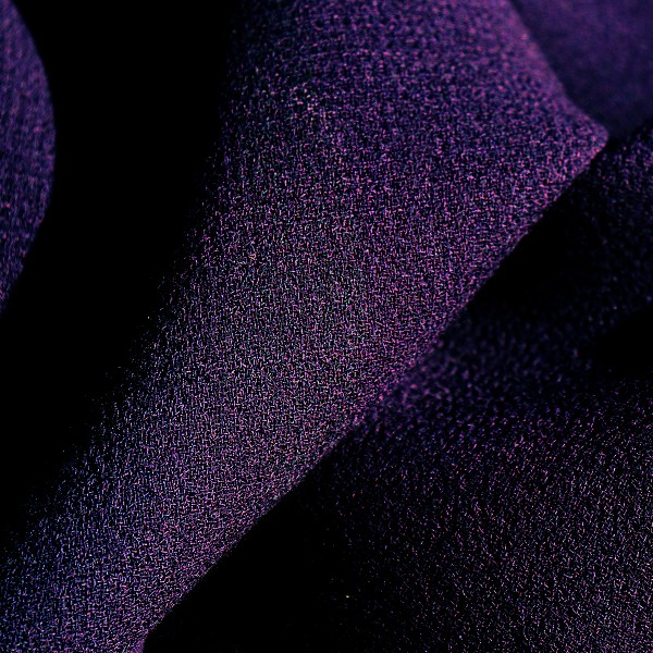 Purple Wool Fabric